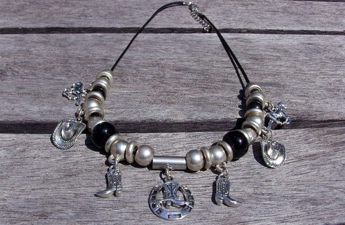 bijoux country - collier country