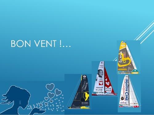 Départ du Vendée Globe : bon vent !