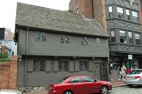 boston 17 - paul revere's house