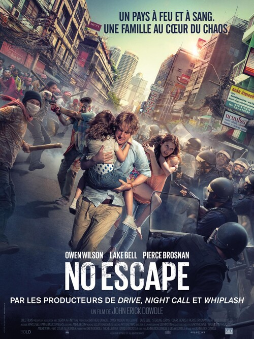 "Bonsoir a l'honneur : "" No Escape """
