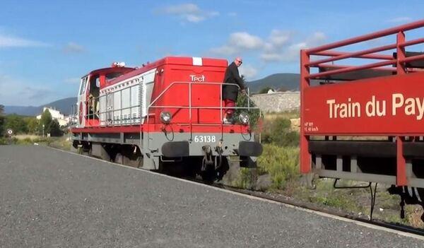 La Coudalère : le train rouge