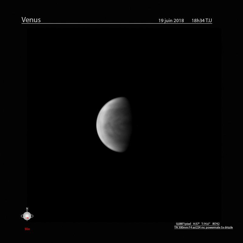 Venus 19 juin 2018