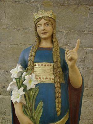 Bienheureuse Delphine de Sabran. Tiers-Ordre séculier de saint François († 1360)
