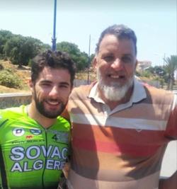 BENZINE avec le jeune Reguigui Youcef fils de Abdelkader son ami