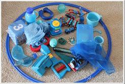 Blue Sorting Hoop