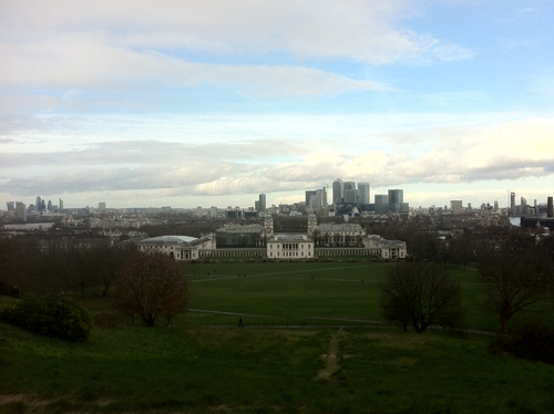 Photo taken from the Observatory of Greenwich