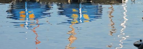 jeu ; Le reflet de l'eau