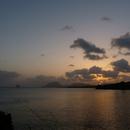 Crépuscule à l'Anse à Mabouyas - Photo : Edgar