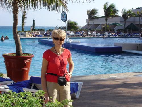 Jacqueline au Mexique janv.2005