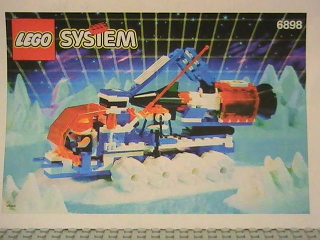 Légo ICE PLANET n° 6898 de 1993 - Ice-sat V.