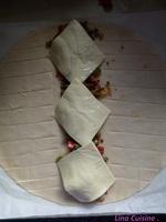 Tresse feuilletée à la viande hachée