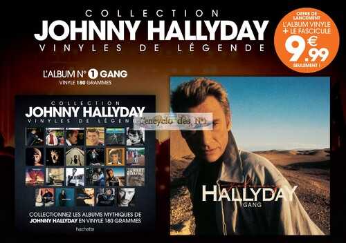 N° 1 Vinyles de légende Johnny Hallyday - Test