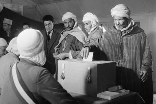 L'abandon de l'Algérie était voté