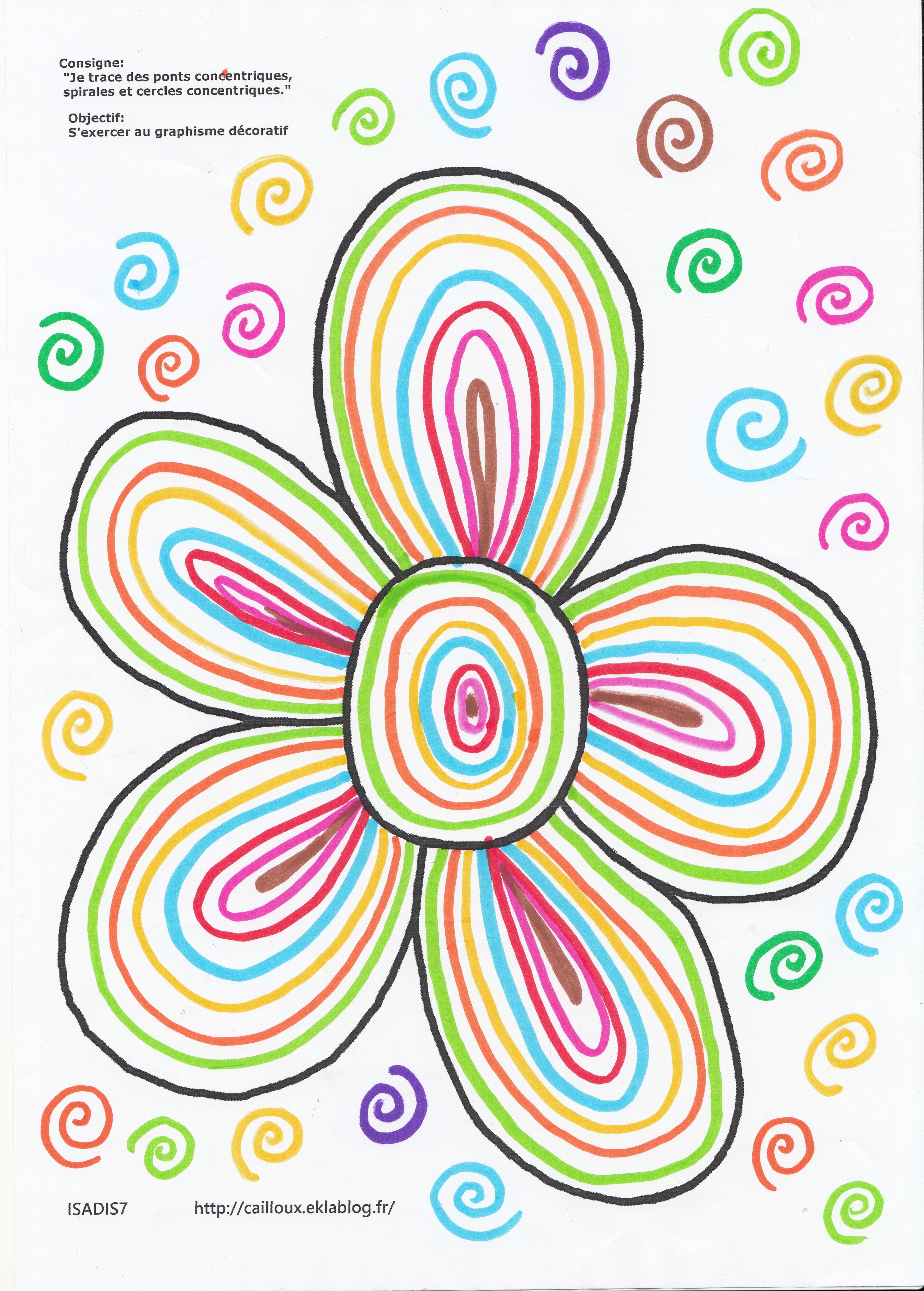 Graphisme page 4 la maternelle d 39 isadis7 - Le printemps gs ...