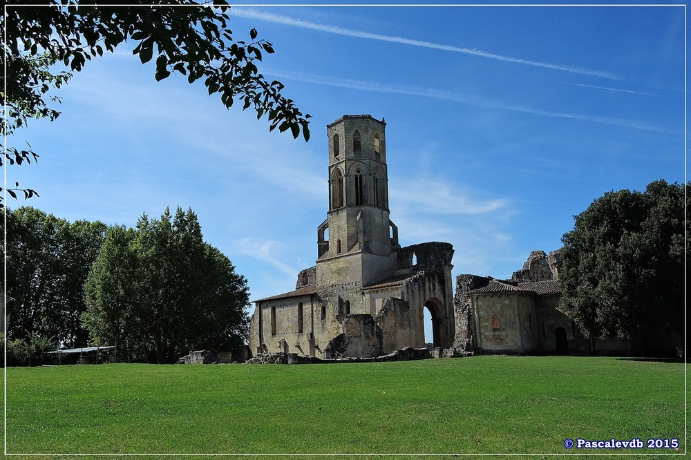 L'abbaye de La Sauve-Majeure - Août 2015 - 9/10