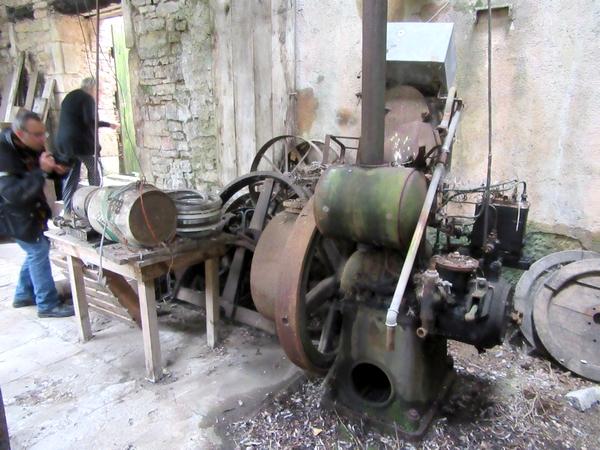 Les journées du patrimoine de pays et des moulins ont eu lieu à la pointerie de Chamesson