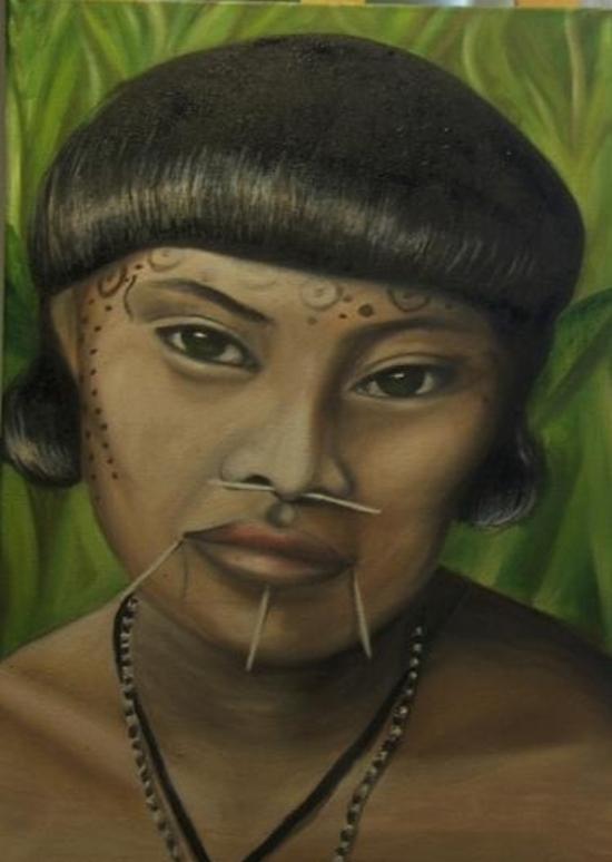 Femme Yanomami