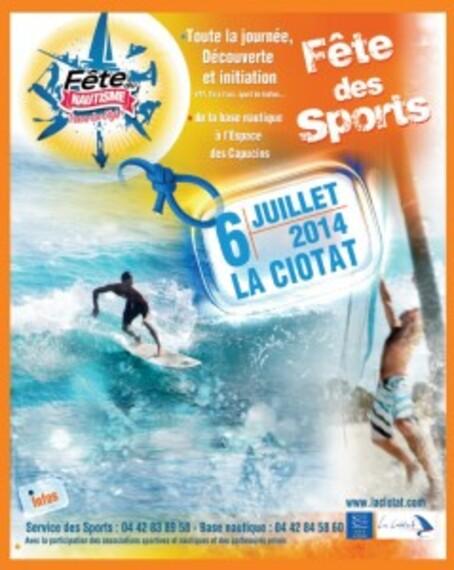 - Fête des sports et du nautisme le 06/07/2014