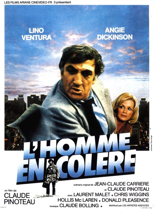 L' HOMME EN COLERE - BOX OFFICE LINO VENTURA 1979