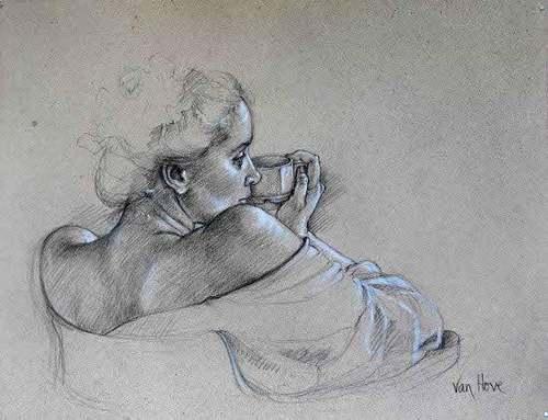 Peinture de : Francine Van Hove