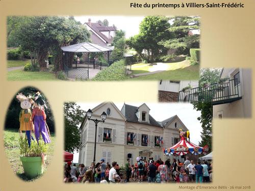 """Les """"Robertas"""" à la fête du printemps 2018 de Villiers-Saint-Frédéric"""