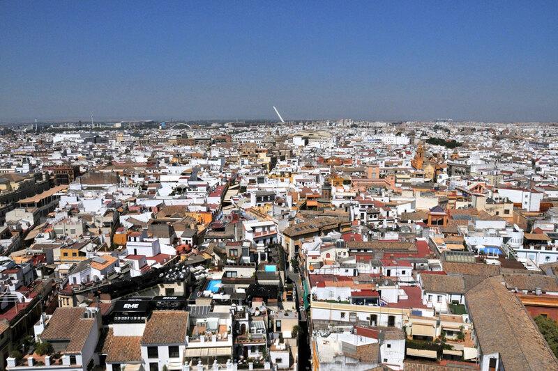 Séville vue de la tour de la cathédrale