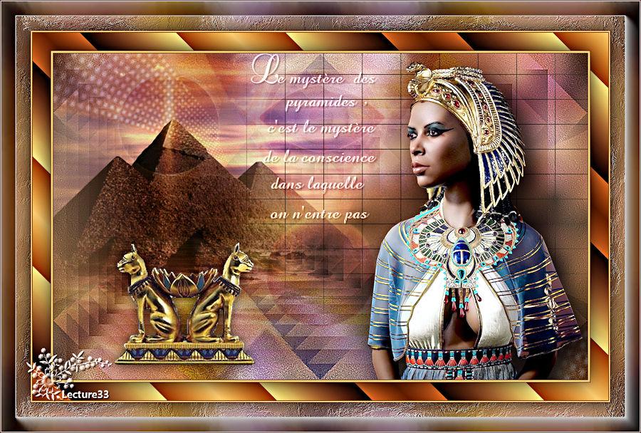 MYSTERIEUSE EGYPTE