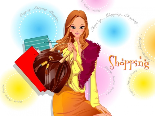 "Vectors ""  shopping  """