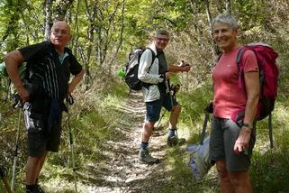 28 septembre 2017 : Tour de la montagne de Lozeron