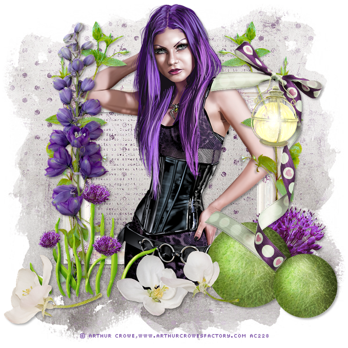 Tuto de Hobbyhoek van Catrien traduit chez Colorweb : Lilacflowers