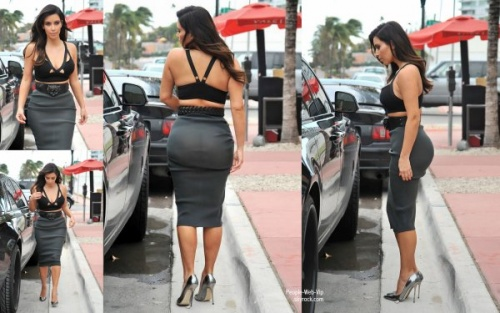 Kim Kardashian ou la femme aux gigantesques fesses !