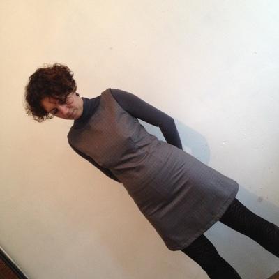 Robe trapèze Kate