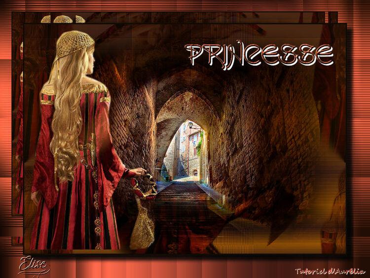 Princesse de Auréliagraphics  psp