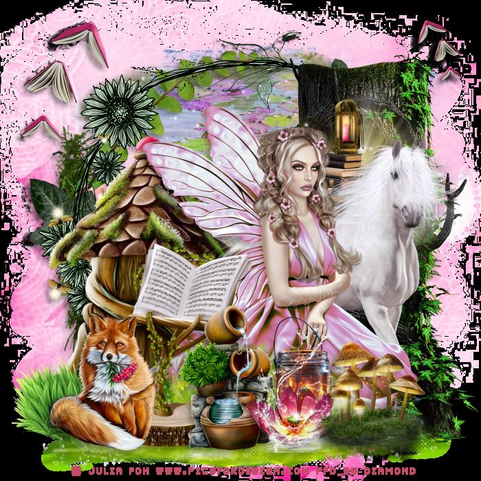 Défi secret Forest chez Lili et Mumu