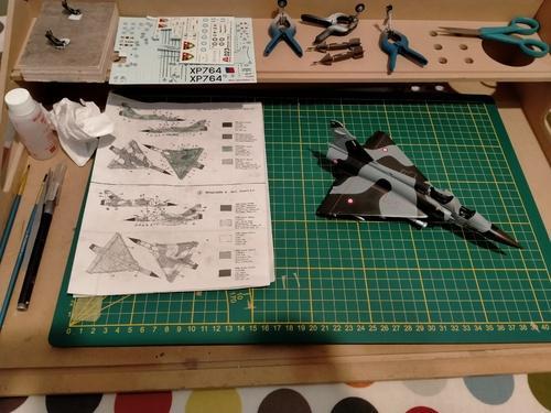 Un Mirage 2000 sorti du purgatoire