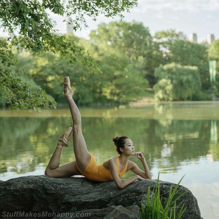 Photos de danseuse de ballet dans un projet photo phénoménal «Ballerine» par Dane Shitagi