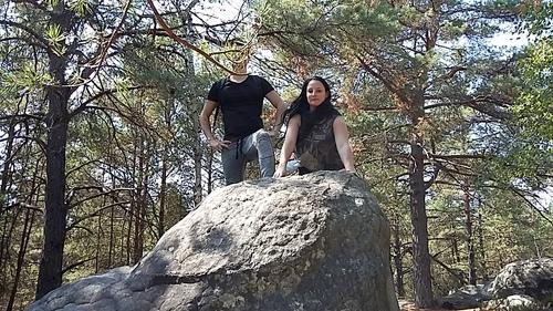 suite Gorges de Franchard - les rochers