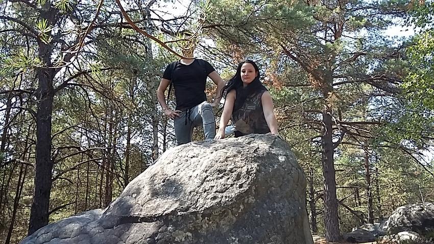 Le rocher de la tortue  - suite gorges de Franchard -