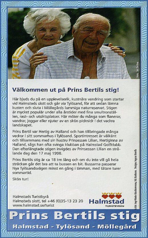 Prins Bertil Stig i Halmstad