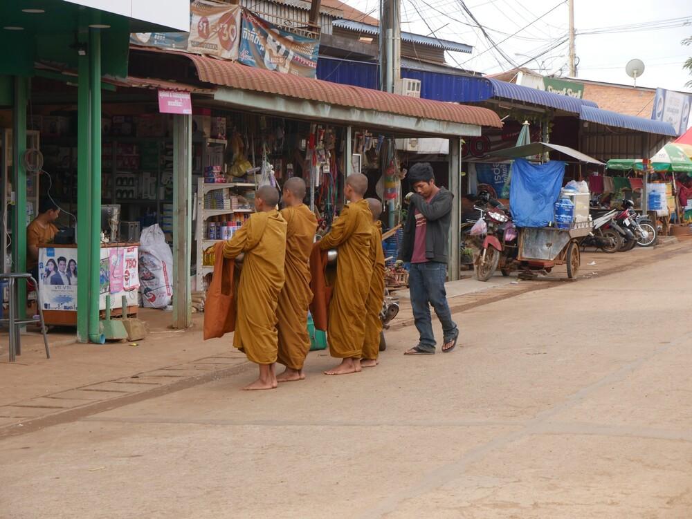 Marché de Sen Monorom - Cambodge