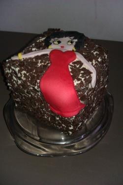 Betty-Boop en Forêt Noire  ;-)