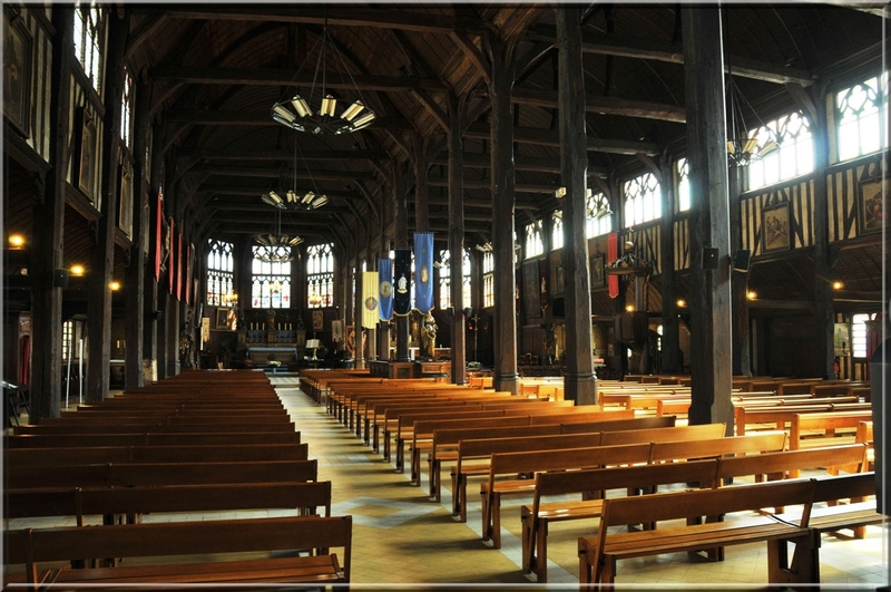 Honfleur, église sainte-Catherine