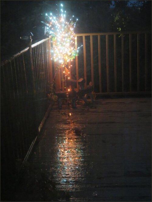 Pluie en soirée......