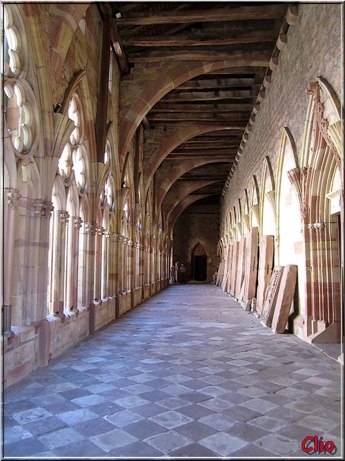 Wissembourg et l'abbaye Saint-Pierre-et-Saint-Paul (Intérieur)