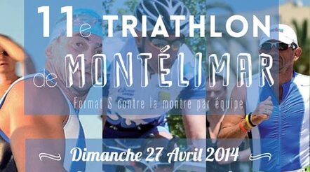 Triathlon de Montélimar 27 avril 2014