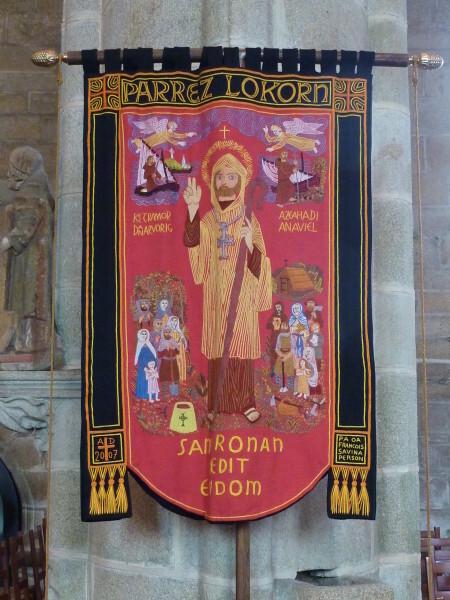 Locronan (Banière de Saint-Ronan)
