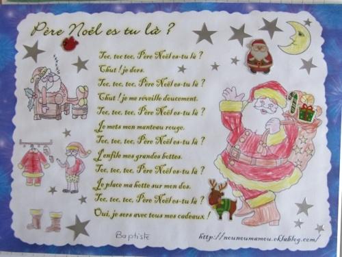 Père Noël es tu là ?