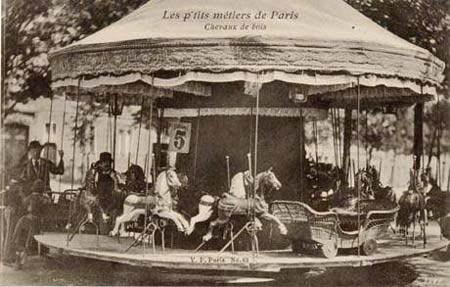 Carrousel à Paris