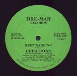 The Creations - Keep Dancing