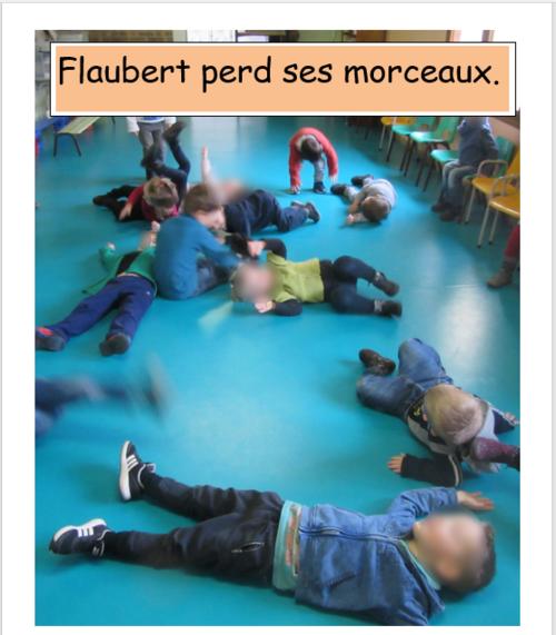 """TPS/PS/ Expression corporelle """"La promenade de Flaubert"""""""